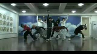 TVXQ -  Purple Line (dance practice)