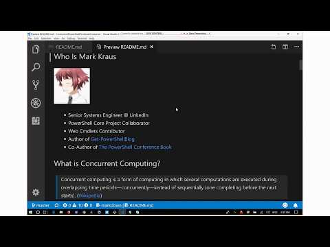 Video: Concurrent Programming in PowerShell with the Producer