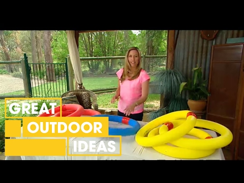 DIY Pool Noodle Projects For Kids