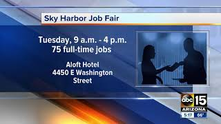 Workers wanted at Sky Harbor!