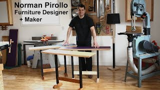 Norman Pirollo | Furniture Designer + Maker