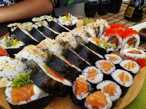 23 года совместной жизни и ужин в суши бар в Польше ЖИЗНЬ В POLAND