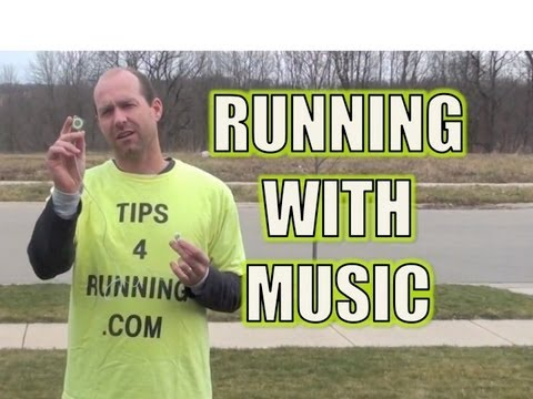 Running Music - Tips for Listening to an IPod During a Run