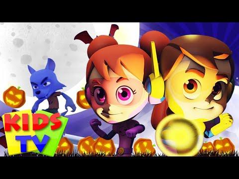 Hello it's Halloween | Super Supremes Cartoons | Halloween Songs For Kids