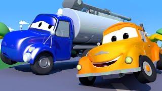 Odtahové auto pro děti - Tanker Tyson má potíže s čerpadlem Odtahové auto