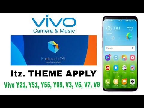 Vivo y51l 2 6 15 with great feature look like apple theme