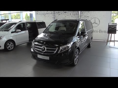 Mercedes-Benz V-Class 2016 In Depth Review Interior Exterior