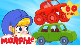 Morphle's Big Cars - Monster Trucks for Kids | Mila and Morphle | Cartoons for Kids | Morphle TV