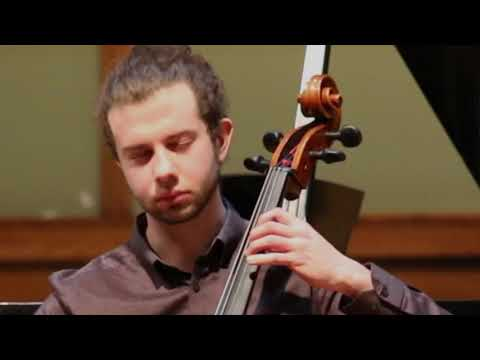 George Teague performs Witold Lutosławski's Sacher Variation