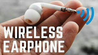 How To Make Wireless earphone Easily At Home