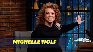 Michelle Wolf Tells Jokes She Wasn't Allowed to Write for Late Night - dooclip.me