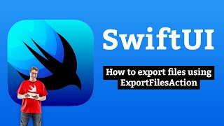 How to export files using ExportFilesAction – SwiftUI