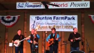 Doyle Lawson Bluegrass Festival 2014-Denton