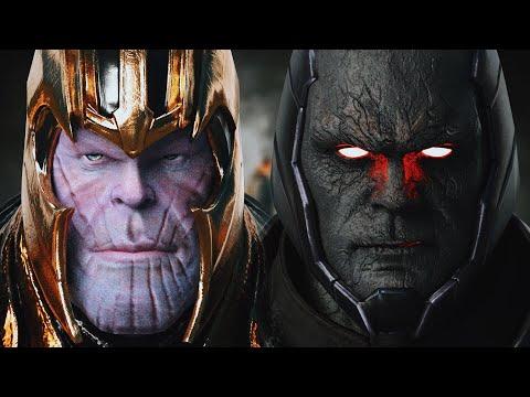 THANOS vs. DARKSEID (Battle of the Titans) - Part I | EPIC BATTLE!