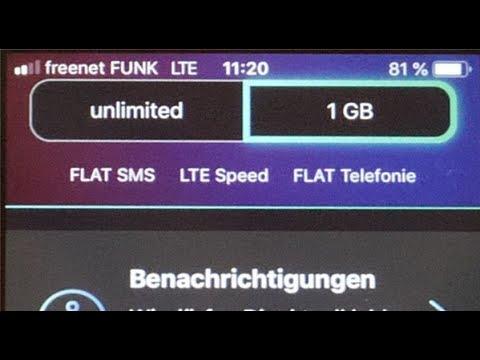 freenet FUNK unboxing - unlimitierte LTE-Flat + AllNet für ca. 30 €/Mon.