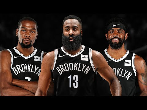 James Harden Traded to Nets! Big 3 Durant and Kyrie! 2020-21 NBA Season