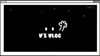 [vlog] 뷔의 뉴욕전시 브이로그 v's vlog