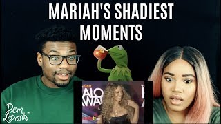 Mariah Carey's Shadiest Diva Moments| REACTION