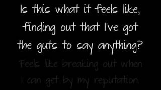 Guts by All Time Low w/ lyrics!