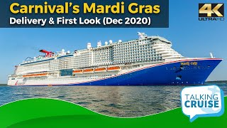 Carnival's Mardi Gras - A First Look (Official Delivery & Quick Tour Onboard)