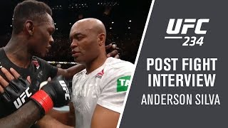 UFC 234: Anderson Silva - 'I'm So Happy'