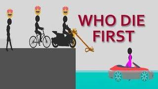 who die first - SHORT LIFE - stupid stickman