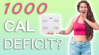 Week 2 Of Losing 40LBS 😱 1000 Calorie Deficit
