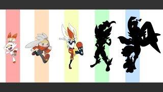Raboot  - (Pokémon) - Pokemon - Scorbunny, Raboot, Cinderace And The Next Evolution.