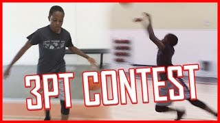 3 POINT CONTEST WITH A TWIST!  - IRL YouTuber 3 Point Contest