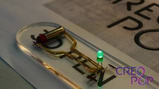 3D ручка Creopop  и  токопроводящие чернила