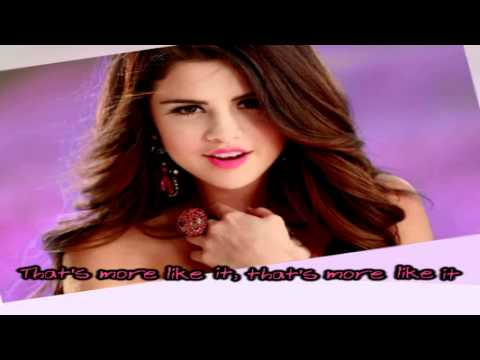 Selena Gomez & The Scene - That's More like It [Karaoke/Instrumental] With Lyrics