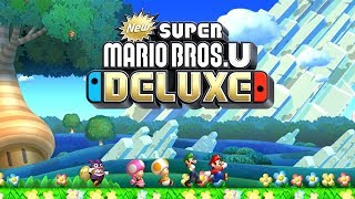 New Super Mario Bros. U Deluxe Worlds 1-9 Full Game (All Star Coins)
