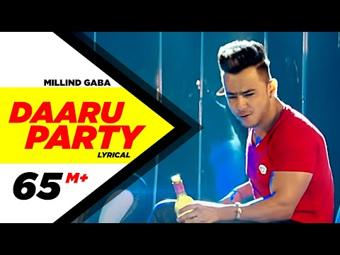 Daaru Party ( Lyrical Video ) | Millind Gaba | Punjabi Lyricai Videos | Speed Records Mp3