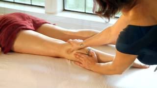 HD Leg, Thigh&Foot Massage Therapy, How To Techniques With Oil, Relaxing Spa ASMR