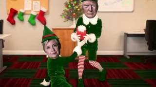 Donald Trump Hillary Clinton Elf Yourself Happy Election Day