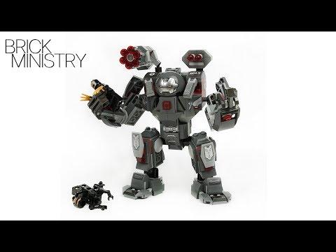 LEGO Avengers 4 Endgame ● WAR MACHINE BUSTER [76124]