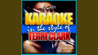I Just Called to Say Goodbye (In the Style of Terri Clarke) (Karaoke Version)