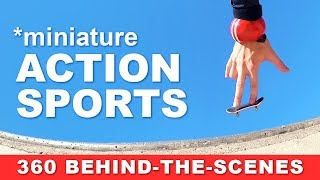 Miniature Action Sports (behind-the-scenes)