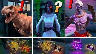 ALL NEW Bosses, Mythic Weapons & Keycard Vault Locations (Boss Dinosaur, Willow,  Raz, Raptor)