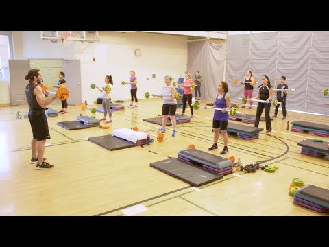 MuscleFit: the efficient, full-body strength training class - YouTube