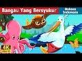 Bangau Yang Bersyukur | The Grateful Crane Story in Indonesian  | Dongeng Bahasa Indonesia