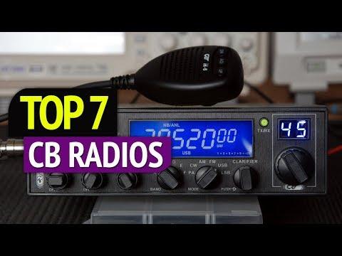 TOP 7: Best CB Radios 2018