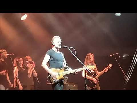 Sting   Fields Of Gold live in Sofia Bulgaria 01.06.2019. MY SONGS TOUR 2019