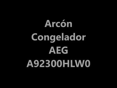 Arcón Congelador AEG A92300HLW0