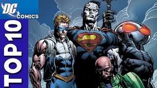 Top 10 Villain Team Ups From Justice League