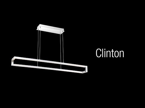 Video for Clinton Chrome One-Light 47-Inch LED Chandelier