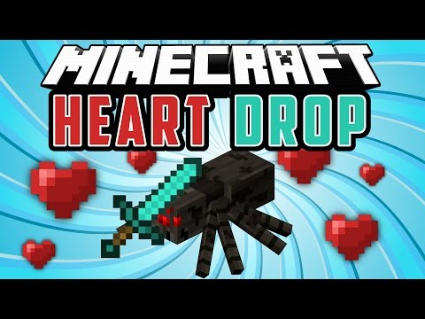 HEART DROP: Mobs Sueltan Corazones - Minecraft Mod 1.8/1.7.10