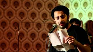 preview picture of video '[Poetry Slam Ulm] Sulaiman Masomi: Auf der anderen Seite'