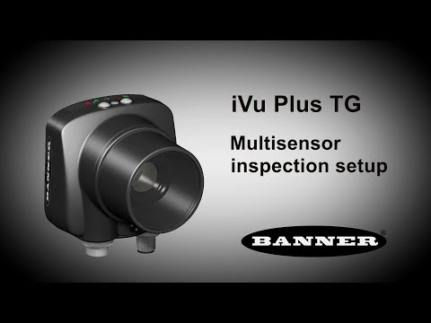 iVu Plus TG Multisensor Inspection