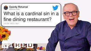 वोल्फगैंग पक ट्विटर से रेस्तरां के सवालों के जवाब देते हैं | तकनीकी सहायता | वायर्ड